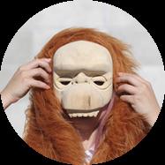 cutmypic orangutan